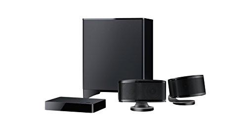 Onkyo LS3200 (B) 2.1-Kanal TV-Lautsprechersystem (DTS Studio Sound, Dolby Digital, Bluetooth-Audiostreaming, drahtloser Subwoofer) schwarz