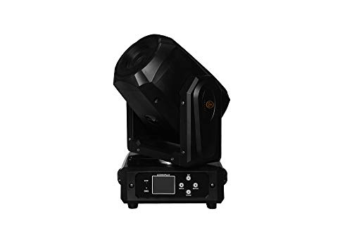 IMRELAX New Hot Sale 60W LED Spot Moving Head Light 3 Facet Prism Rotating GOBO LED Moving Head Disco Light For DJ Party