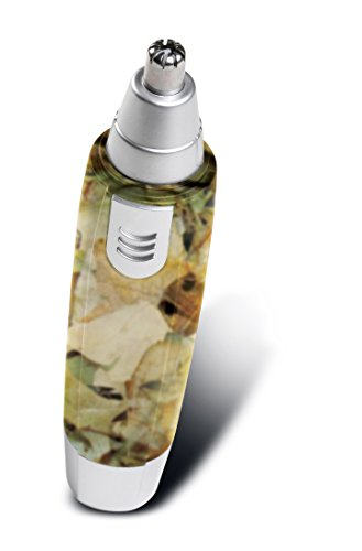 Perfect Life Ideas Wet and Dry Ear Nose Hair Trimmer - Water Resistant Cordless Hair Remover, Cutter, Clipper for Removal of Ear Nose Eyebrows Facial Bikini Line Hair - Color CAMOUFLAGE. from Perfect Life Ideas