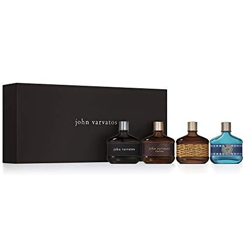 John Varvatos Fragrance Coffret Set for Men, 0.5 oz.
