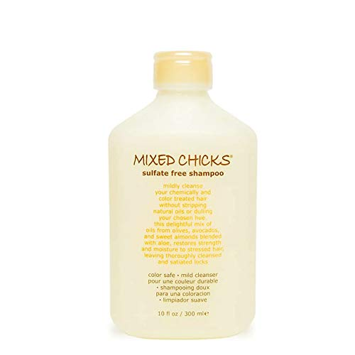 Mixed Chicks Sulfate-Free Shampoo for Colored & Chemically Treated Hair, 10 fl.oz.
