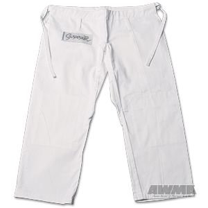 ProForce Gladiator Judo Pants - White - Size 4