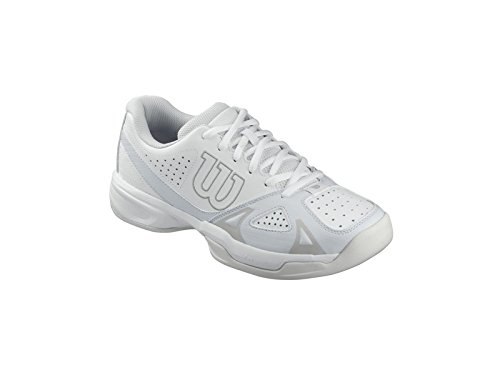 Wilson Women's Rush Open 2.0 White/Ice Gray 7.5 B US