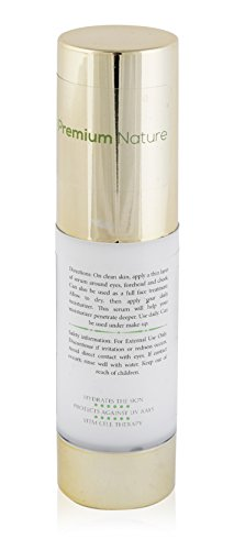 Eye Cream for Wrinkles Repair Gel - 1 oz All Natural Improves Skin Tone Elasticity & Firmness - Removes Dark Circles Puffiness & Fine Lines Premium Nature