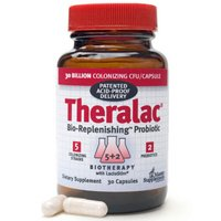 Master Supplements Theralac Bio-Repleneshing Probiotic Capsules, 30 Ea (Pack of 3) by THERALAC