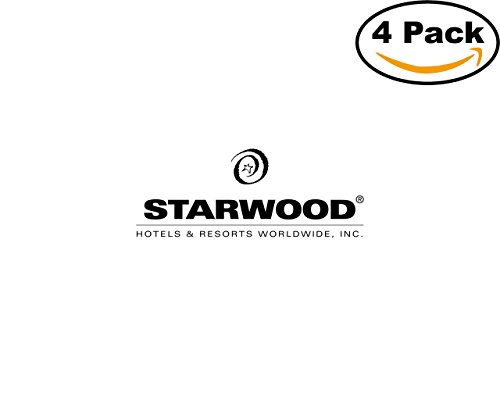 Starwood Hotels 1 4 Stickers 4X4 Inches Car Bumper Window Sticker Decal