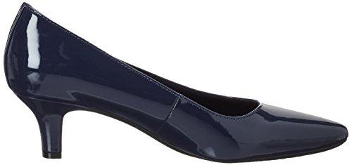 410 Mujer Pat Ocean Punta Deep para de Zapatos Kirsie Tacón Azul con Rockport Cerrada wqO8TRT7