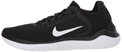 Donna black Free 001 Running Rn 2018 Nike White Nero Scarpe wqavTwZ