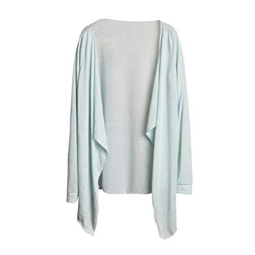 Clearance Women Shirt LuluZanm Long Thin Cardigan Summer Aut
