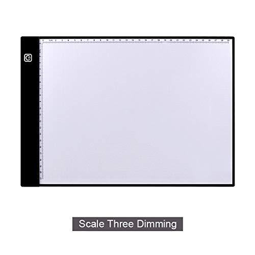 Viet-ST - Tabletas digitales de la mejor calidad - Tabletas gráficas A4 con luz LED - Cuaderno electrónico USB para dibujar...