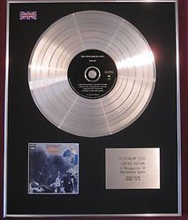 - STEVE MILLER BAND Limited Edition CD Platinum Disc -SAILOR