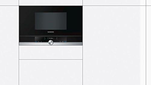 Siemens BF634RGS1 - Microondas (1220W, 59,4 cm, 31,8 cm, 38,2 cm) Negro, Plata: 529.63: Amazon.es: Hogar