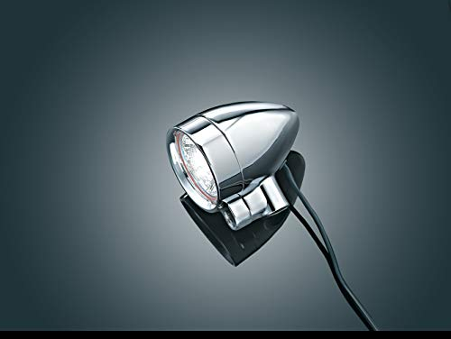 Kuryakyn 2303 Silver Small Bullet Halogen Light Kit ()