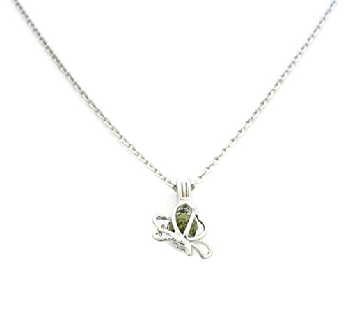 Destination Oils Butterfly Stainless Necklace 16