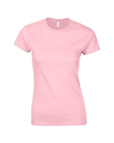 ad con pink Medium XXL SoftStyle anello filato Maglietta donna da 25 S T misure colori Shirt SZAx6xnXq