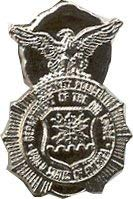 US Air Force Security Police Lapel - Crest Hat Pin