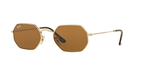 Ray-Ban Metal Unisex Oval Sunglasses, Gold, 53 - Ban Vintage Aviator Ray