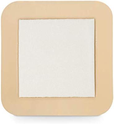 MedVancTM Espuma: apósito adhesivo de espuma hidrofílica con borde 15 cm x 15 cm (almohadilla de 10 cm x 10 cm) Caja de 5 apósitos: Amazon.es: Salud y cuidado personal