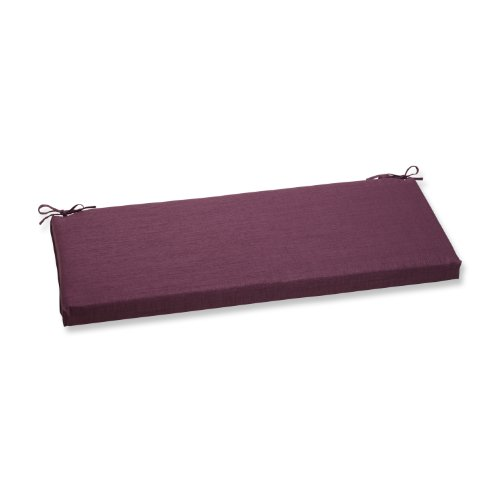 Pillow Perfect Outdoor Rave Vineyard Bench Cushion (Cushion Bench Purple)
