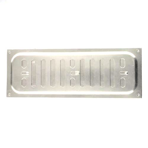 Bulk Hardware BH05705 Adjustable Hit and Miss Air Vent Grille, 240 x 90 mm (9.45 x 2.55 inches) - Aluminium