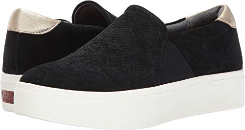 (Dr. Scholl's Women's Abbot - Original Collection Black Suede/Leather 8 M US)