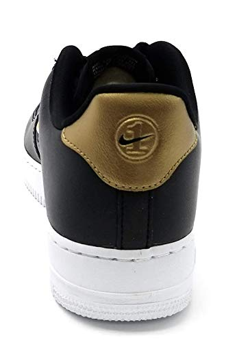 1 white Basses black Sneakers metallic Lv8 Multicolore Homme '07 Air Lthr Force Nike Gold 001 ExOqHaB0