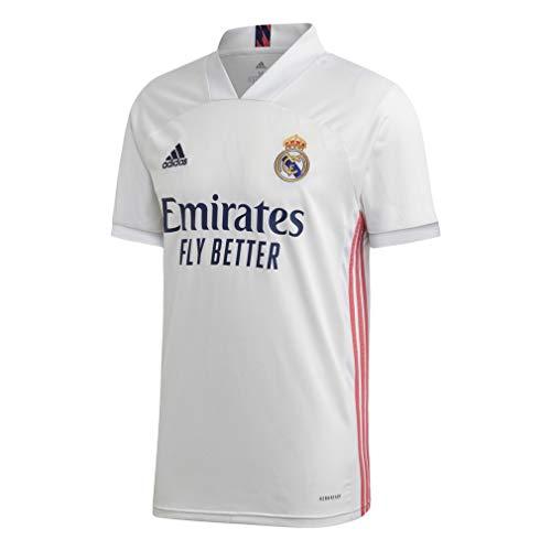 adidas Real Madrid Temporada 2020/21 Camiseta Primera Equipación Oficial Camiseta Primera Equipación Oficial Unisex…