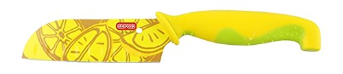 Dexas 4 inch Santoku Knife with Lemon Blade (Best Knife For Cutting Lemons)