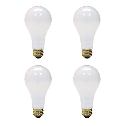 Light Bulb Ge Lighting - GE Lighting 50/100/150-Watt, 3-Way Light Bulb, Long Life, Soft White, 4-Pack
