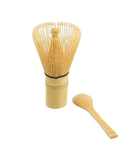 JapanBargain Bamboo Matcha Whisk Spoon product image