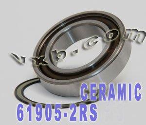 61905-2RS Hybrid Ceramic Ball Bearing 25x42x9 Sealed Si3N4 Ball