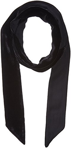 Echo Women's Bias Point Velvet Thinny Scarf Accessory, -black, One - Black Velvet Scarf