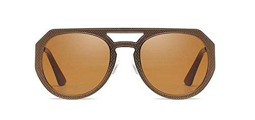 vintage inspirées Thé polarisées soleil en métallique de style du de retro rond Tranche Lennon cercle lunettes Zqtn0HEw
