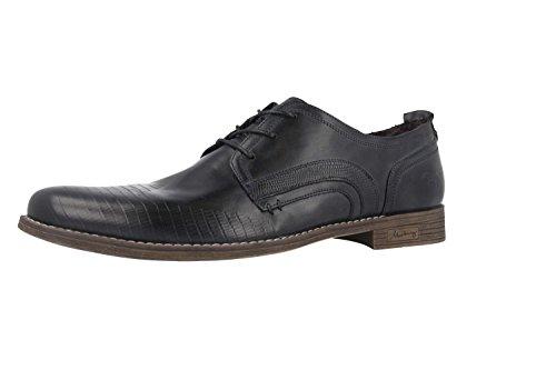 Mustang - Zapatillas de Piel para hombre gris