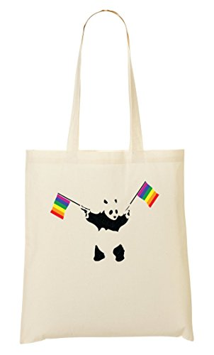 ShutUp Flag Panda Is Fourre Rainbow Sac Rights tout Sac Equal rrBwX