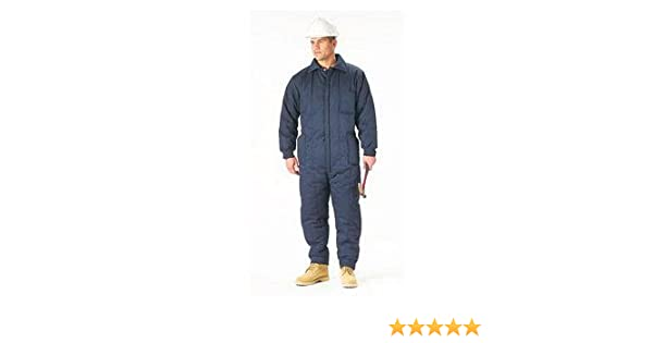 Amazon.com  NAVY BLUE INSULATED COVERALL  Overalls And Coveralls Workwear  Apparel  Clothing d1760b2e322