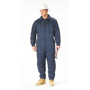 Amazon.com  NAVY BLUE INSULATED COVERALL  Overalls And Coveralls ... fd24bc66bcc