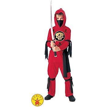 Rubie's Halloween Concepts Child's Red Ninja Costume, Small