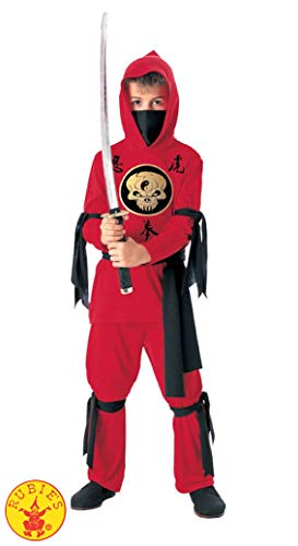 Plus Size Deluxe Ninja Costumes - Rubie's Halloween Concepts Child's Red Ninja