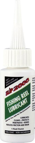 Slip2000 Fishing Reel Lubricant with Needle Tip, 1-Ounce