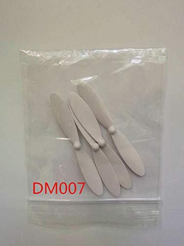 Parts & Accessories 4Pcs 1 Set Dm007 Propeller Cw Ccw For Dm007 Rc Quadcopter Spare Part - (Color: White)