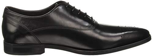 Para Life C9999 Hombre Zapatos Oxford De Cordones Negro Geox black New U54qf5Y