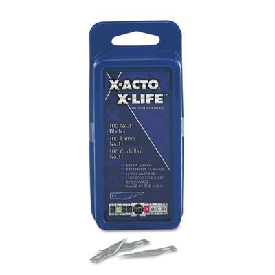 #11 Bulk Pack Blades for X-Acto Knives, 100/Box