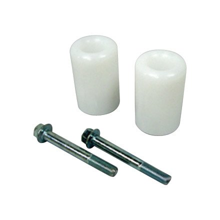 06-07 YAMAHA YZF-R6: Shogun Motorsports No Cut Frame Sliders - White