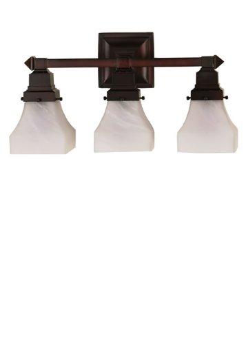 - Meyda 26310 Mission Bungalow 3 Light Vanity