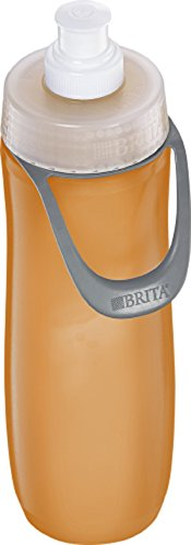 BRITA Water Filtration Water Bottles Sport 23oz (20 oz, Orange (Sport)) (Brita Water Bottle Orange compare prices)