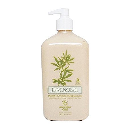 Hemp Nation Toasted Coconut & Marshmallow Moisturizer 18 Oz