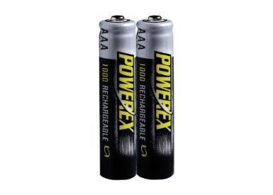 Powerex MHRAAA4 Powerex AAA 1000mAh 4-Pack Rechargeable Batteries