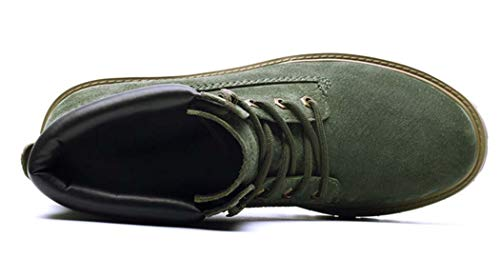 38EU Green Stivali In Uomo Pelle Da Martellata wXYOqa