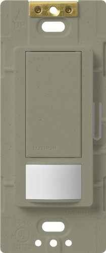 Lutron Lutron MS-VPS6M2-DV-GB Maestro 6-Amp Multi-Location Dual Voltage Vacancy Sensing Switch, Greenbriar